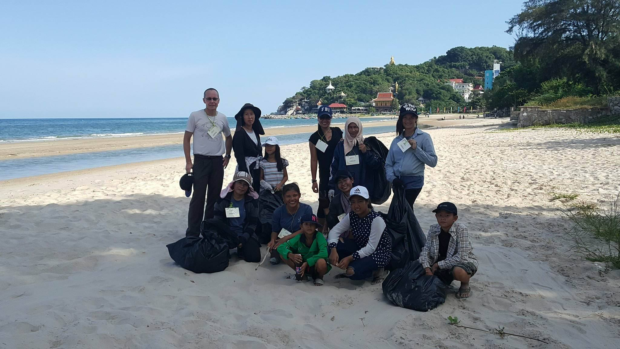 Khao Tao Clean Up Day